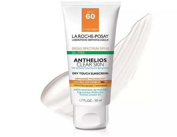 Protetor Solar La Roche-Posay Anthelios Clear Skin SPF 60 - 50ml