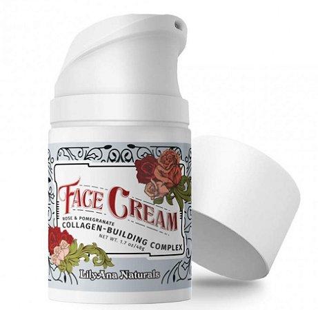 LilyAna Naturals Face Cream Antienvelhecimento - 48g