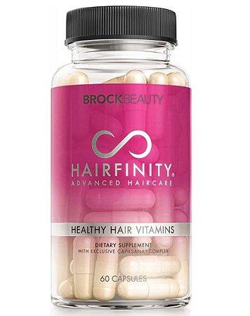 Hairfinity Vitamina Para Cabelo Saudáveis - 60 Cápsulas