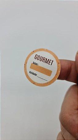 Gourmet - Sabor / Validade  - 90 unidades