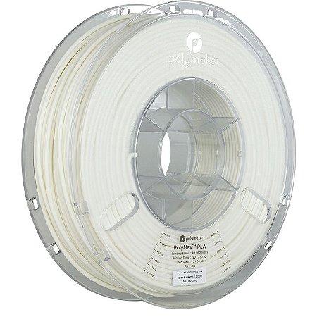 Filamento PLA White 2,85mm 0,75Kg Polymax