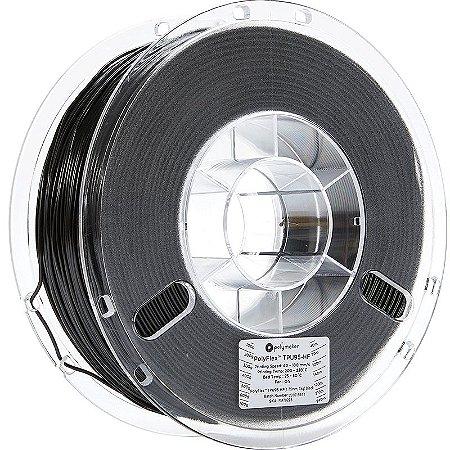 Filamento TPU95HF Black 1,75mm 1Kg Polyflex