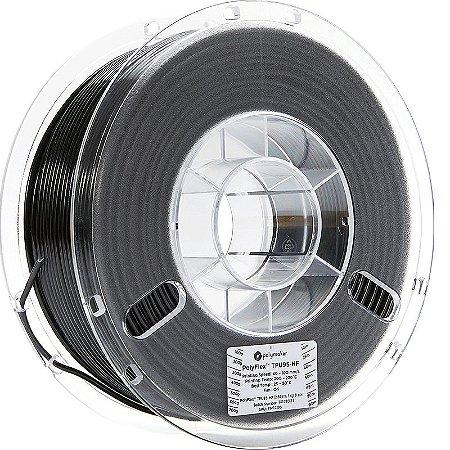 Filamento TPU95HF Black 2,85mm 1Kg Polyflex
