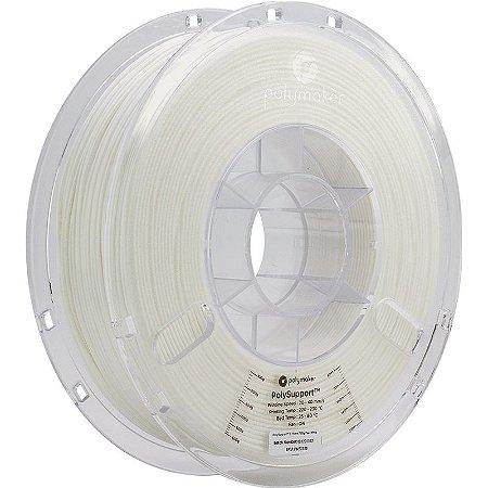 Filamento Polysupport Pearl White 1,75mm 0,75Kg