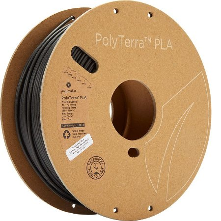 Polyterra PLA Charcoal Black 2,85mm 1Kg