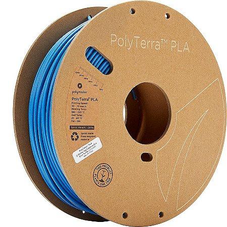 Filamento PLA Sapphire Blue 2,85mm 1Kg Polyterra
