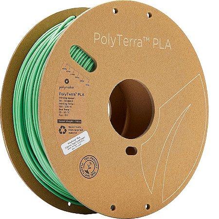 Filamento PLA Forrest Green 2,85mm 1Kg Polyterra