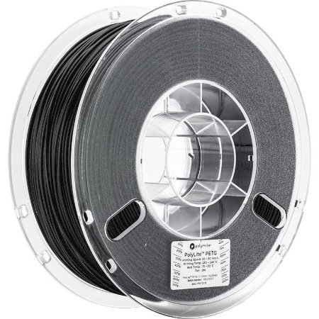 Polylite PETG Black 1,75mm 1Kg