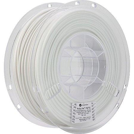Filamento PETG White 2,85mm 1Kg Polylite