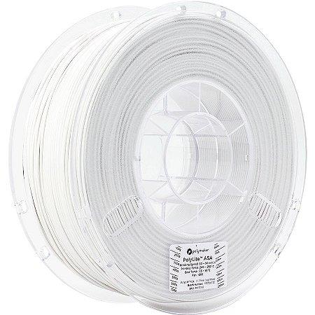 Filamento ASA White 1,75mm 1Kg Polylite