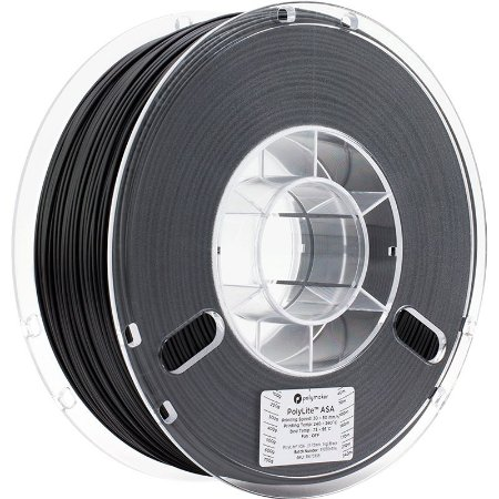 Polylite ASA Black 1,75mm 1Kg