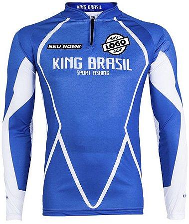 CAMISETA PERSONALIZADA KING BRASIL  (COM LOGO) 0349