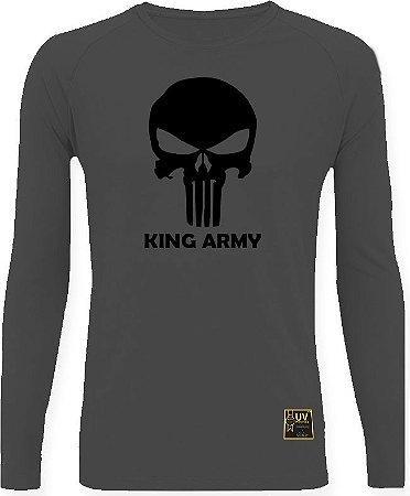 CAMISETA STYLE KING BRASIL - ARMY CHUMBO/PRETO