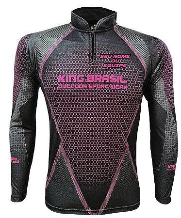 Camiseta Personalizada King Brasil - (COM NOME) 0694