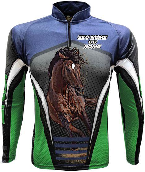 CAMISETA PERSONALIZADA KING BRASIL HORSE  (COM NOME) 2405