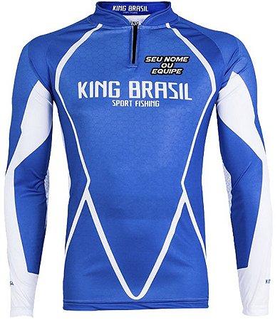 CAMISETA PERSONALIZADA KING BRASIL - (COM NOME) 0349