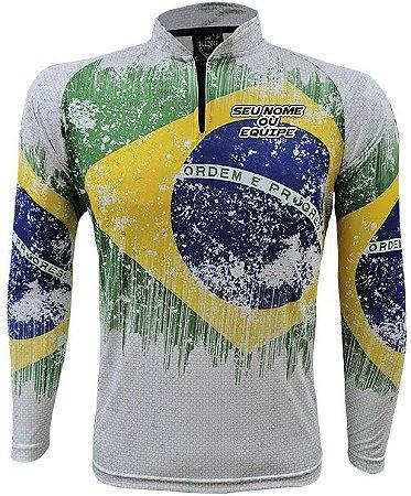 Camiseta Personalizada King Brasil - (COM NOME) 2940