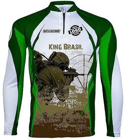 CAMISETA PERSONALIZADA KING BRASIL AIR SOFT (COM LOGO) -2475