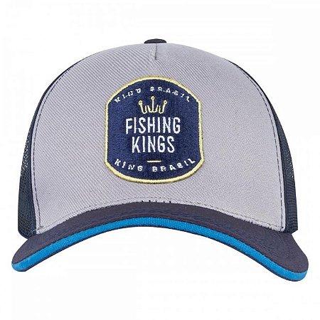 BONÉ KING BRASIL - FISHING KINGS