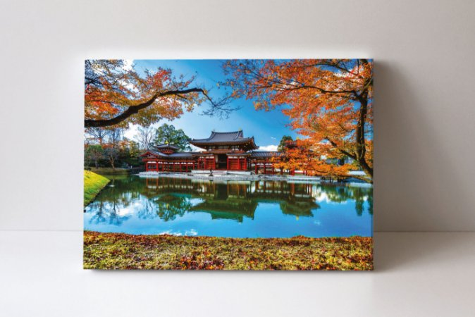 Quadro em Canvas Templo Byodoin Antiga Kyoto