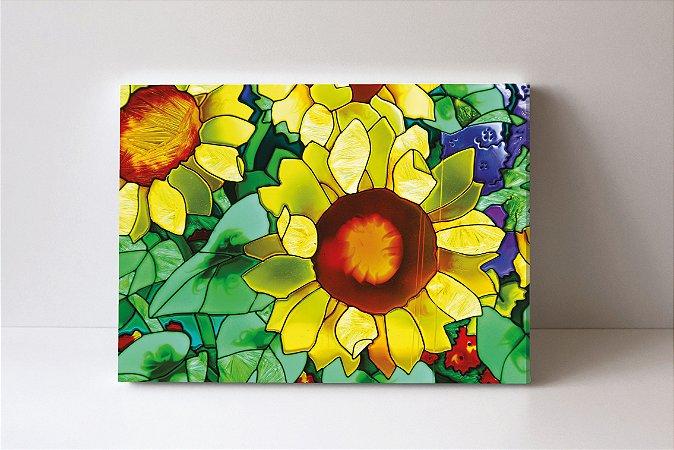 Quadro em Canvas flores
