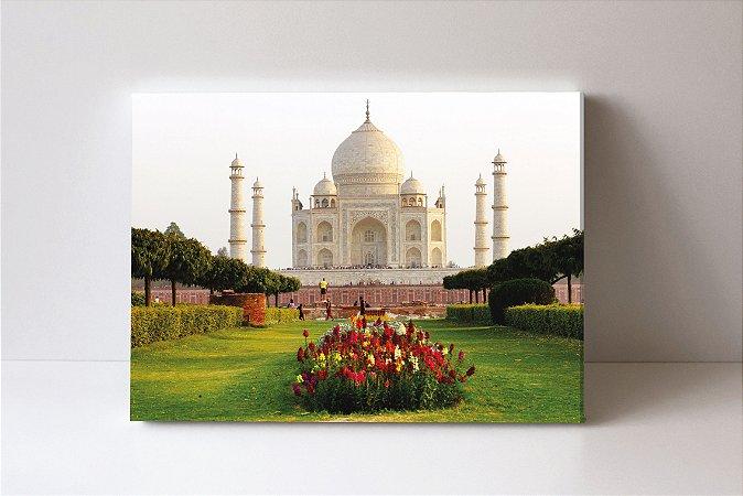 Quadro em Canvas Taj Mahal mausoléu situado em Agra na Índia.