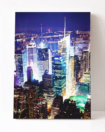 Quadro em Canvas O Empire State Nova York na Quinta Avenida