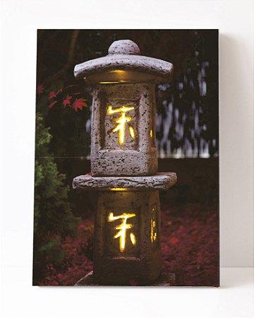 Quadro em Canvas Japonês Luz