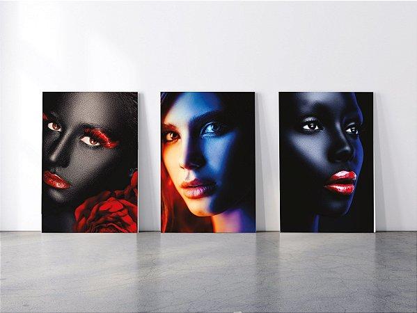 Quadros em Canvas Mulheres Delicadas