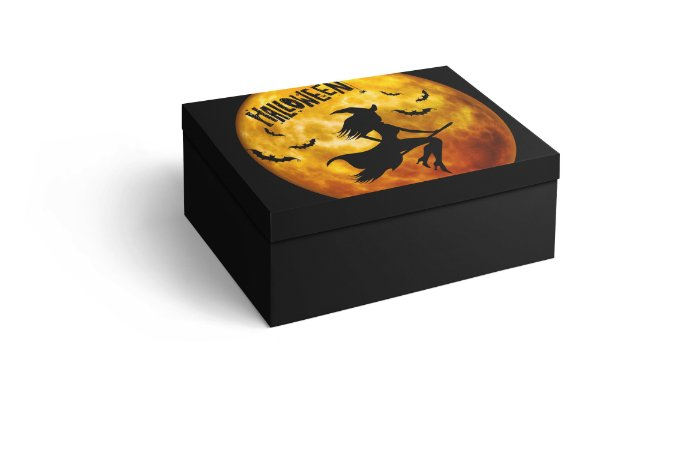 Caixa Retangular Halloween
