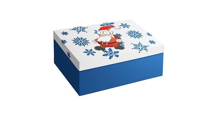 Caixa Retangular Papai Noel