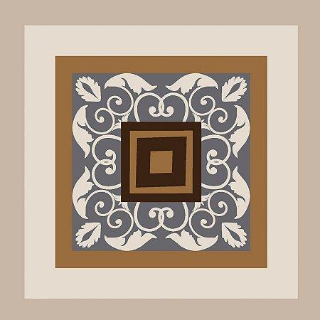Adesivo de Azulejo Abstrato Persa