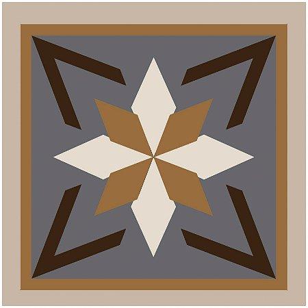Adesivo de Azulejo Estrela de Shuriken