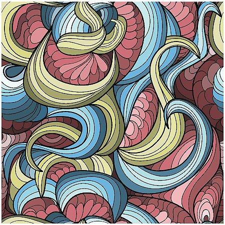 Adesivo de Azulejo Mar de Algas