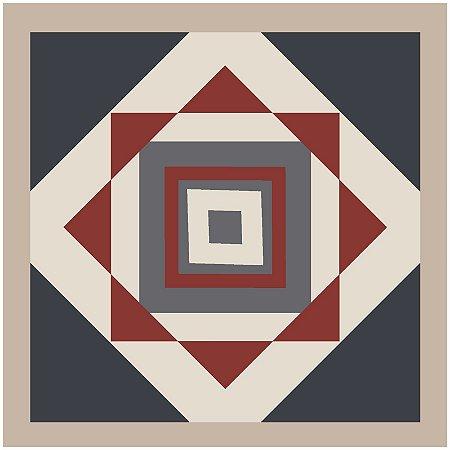 Adesivo de Azulejo Octogono Abstrato