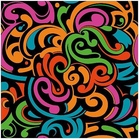 Adesivo de Azulejo Psychedelic