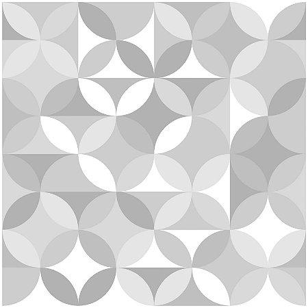Adesivo de Azulejo Stars in Circles