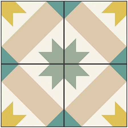 Adesivo de Azulejo Star Vintage