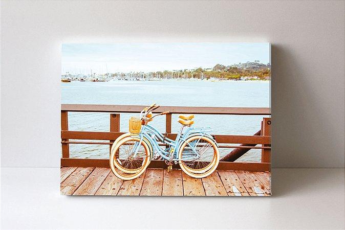 Quadro em Canvas Bicicletas