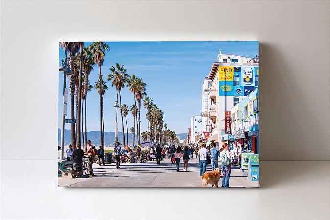 Quadro em Canvas Principal Praia de Venice