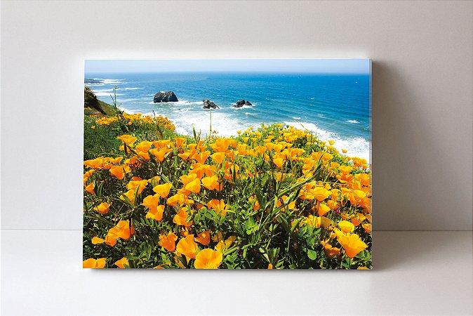 Quadro em Canvas Flowers