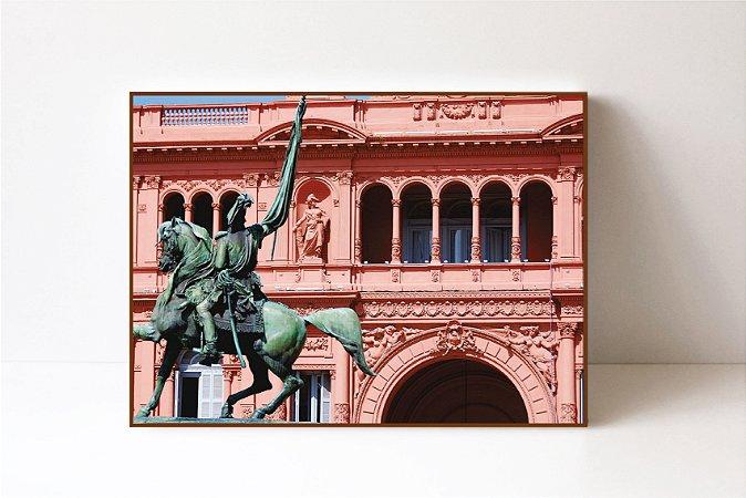 Quadro em Canvas Argentina Plaza de Mayo