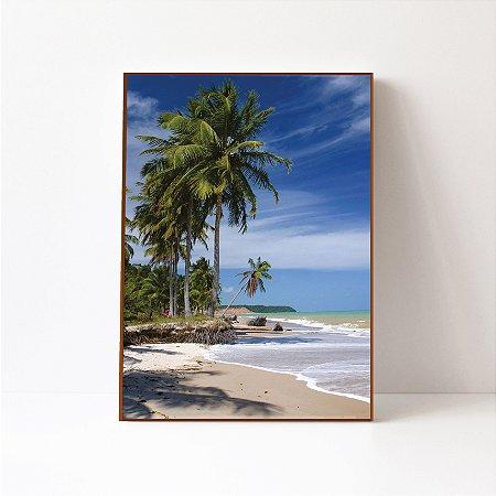 Quadro em Canvas Praia Alagoas