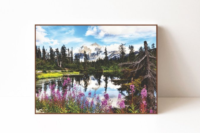 Quadro em Canvas Monte Shuksan Washington