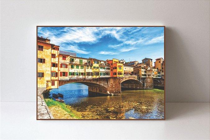 Quadro em Canvas Ponte Vecchio
