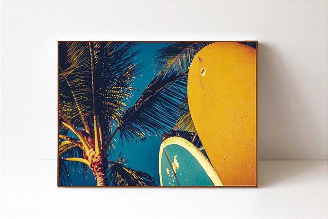 Quadro em Canvas Prancha de Surf