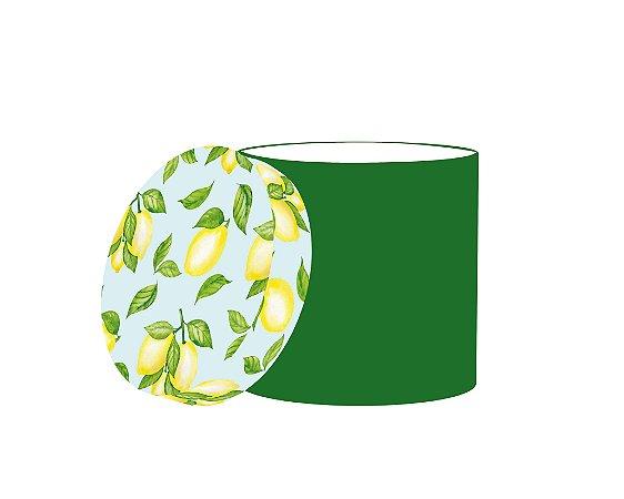 Caixa Redonda Frutas Cítricas