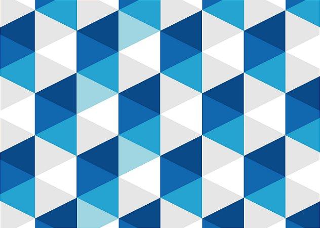 Jogo Americano Quadrados Azuis