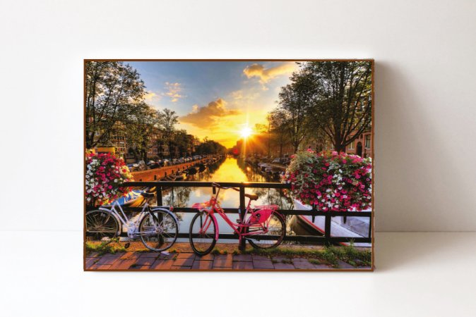 Quadro em Canvas Amsterdan