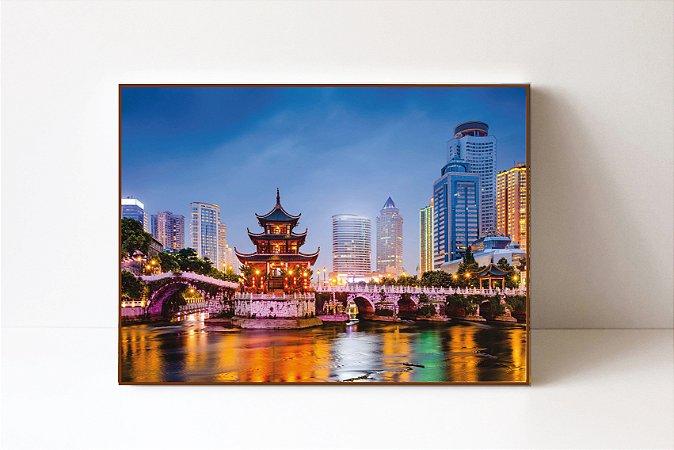 Quadro em Canvas China
